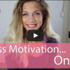 Fitness Motivation: One Simple Tip to Stay Motivated