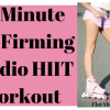 15-Minute Leg Firming Cardio HIIT Workout